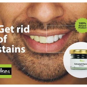 activated charcoal - teeth cleanser