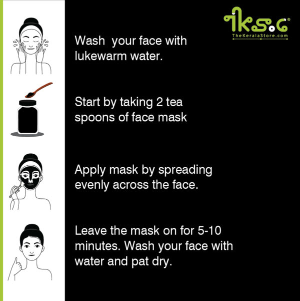 charcoal honey face-mask