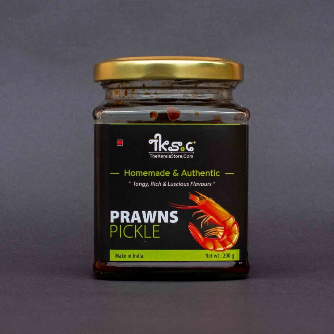Homemade Prawns Pickle