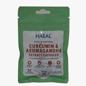 Curcumin & Ashwagandha Extract Capsules