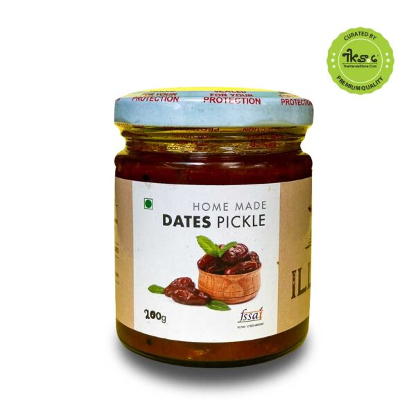 Home-made dates pickle