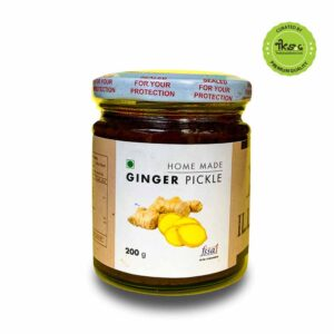 home-made ginger pickle