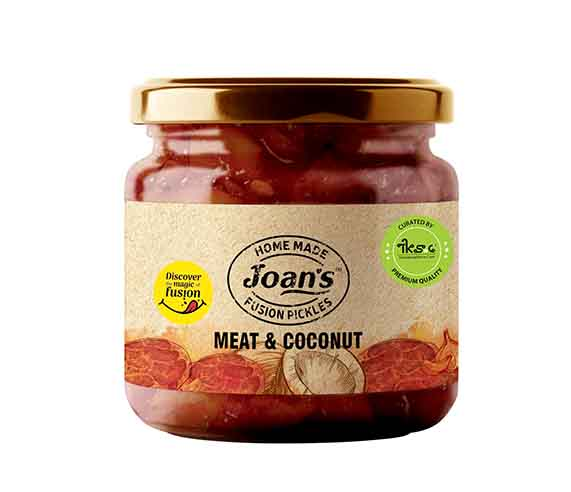 meat and coconut dry