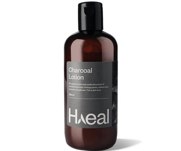 activated charcoal body lotion