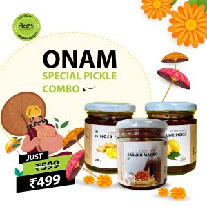 Onam Special Pickle Combo Pack